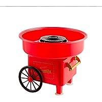 Máquina de Algodón de azúcar JK-M01 / Máquina profesional de eficiencia energética para hacer nubes y algodón de azúcar/Candy Machine (Rojo)