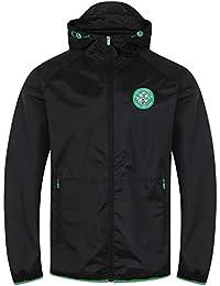 11c3fd55da85 Celtic FC Official Football Gift Mens Shower Jacket Windbreaker