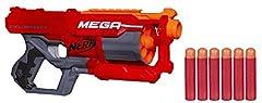 Idea Regalo - Hasbro Nerf Mega Cycloneshock, Blaster con Dardi