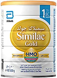 Similac Gold 1 HMO Infant Formula Milk For 0-6 Months, 800g