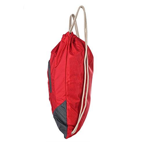 Fastar 12L unisex nylon sport all' aperto Borsa da trekking escursionismo campeggio zaino Zaino da viaggio Rosso