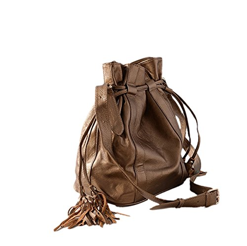 Woman-PU-bucket-Packs-New-Fashions-Tassels-Ropes-Single-Shoulder-Bag-Handbag-Inclined-Shoulder-Bag