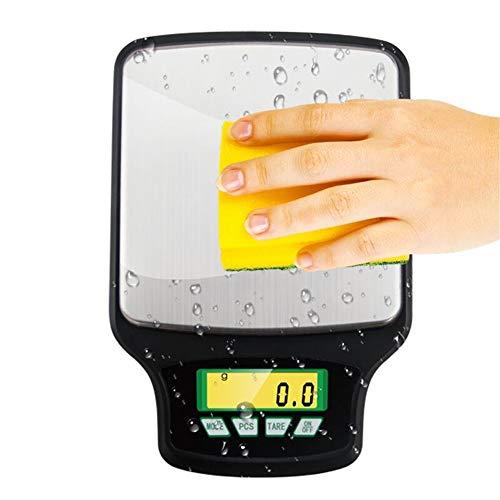 Küchenwaagen Kitchen Scale Digitalwaage 3000g x 0,1g Balance Präzision Elektronische Küchenwaage Lebensmittel Post Gramm Skala 0,1g