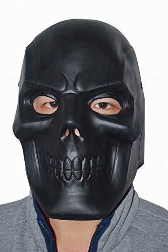 MingoTor Halloween Superheld Maske Schwarz (Mask Cosplay Black Batman)
