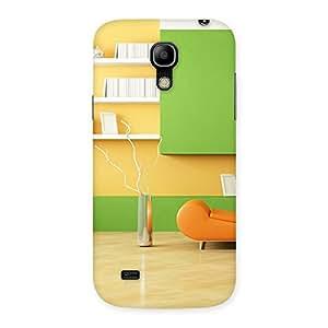 Gorgeous Pleasant Home Multicolor Back Case Cover for Galaxy S4 Mini