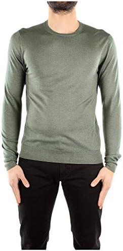 Camiseta Manga Larga Prada Hombre Lana Verde UMA273SALVIA Verde 48