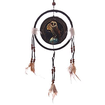 Lisa Parker Barn Owl Dreamcatcher 16cm. A perfect gift for that Birthday Gift, Christmas Present or Fathers day gifts etc...
