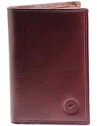 GRAND CLASSIQUE Portefeuille en cuir MARRON CHOCO N1327 - Grand Portefeuille Homme