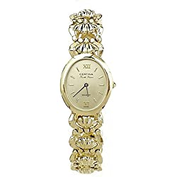Reloj Certina Kurth Freres oro 18k mujer 307547 [558] - Modelo: Kurth Freres oro 18k