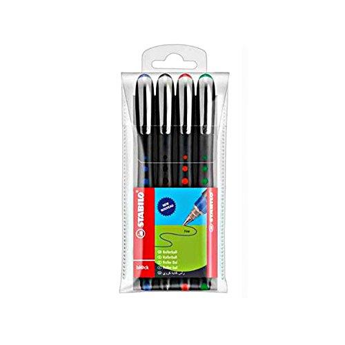 Stabilo 1016/4 - Roller tinta líquida