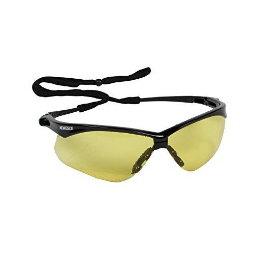 SAFETY-Occhiali protettivi JACKSON V30 NEMESIS-Lente/ambra, confezione da 1 paio di occhiali