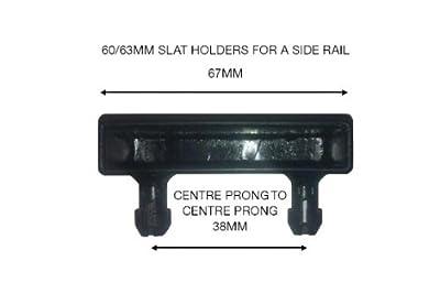 Bed Slat Holders For Side Rails - Unit Pack Of 10