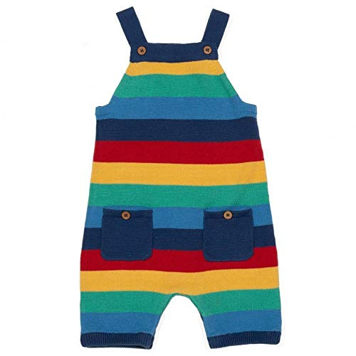 Kite Rainbow Knit Dungarees 3-6 Months