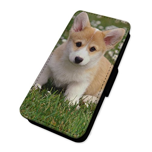 Corgi Royal Dog – Custodia ad aletta in pelle copertura di carta Apple Iphone 6 Plus/6s Plus