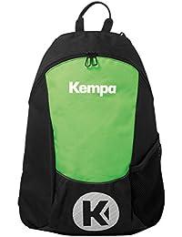 Kempa 200490605, Mochila Unisex Adulto, Negro (Neo/Vde Espnza), 24x36x45 cm