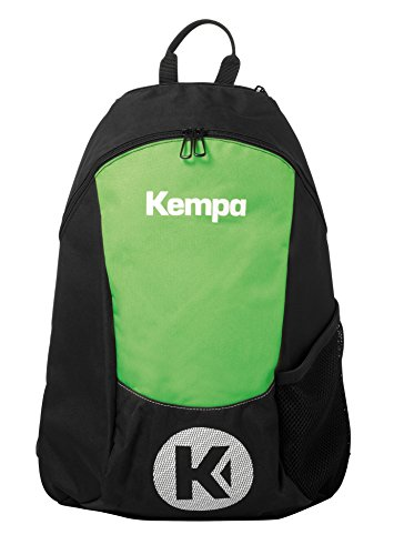Kempa Unisex-Erwachsene 200490605 Rucksack, Schwarz (Neo/Vde Espnza), 24x36x45 centimeters