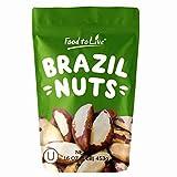 Noci del Brasile intere, 1 Libbra - crude, senza guscio, non salate