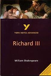Richard III: York Notes Advanced by Rebecca Warren (2001-09-28)