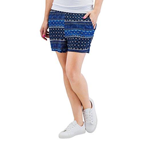 ONLY - Shorts blu da donna nova ditsy 36 blu