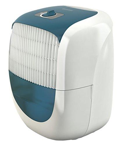 Olimpia Splendid 01298 Aquaria 10 Deumidificatore, Capacità 10 litri/24h, Bianco/Blu