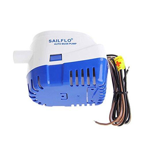 OurLeeme 1100GPH Barco Marina 12V automático Sumergible de achique Bomba de Agua automática