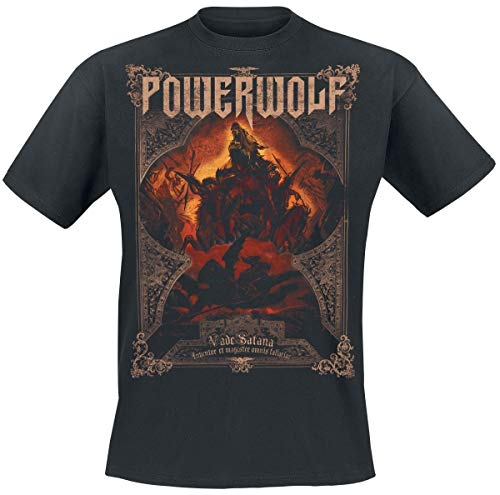 Powerwolf Vade Satana - Metal is Religion T-Shirt schwarz XXL