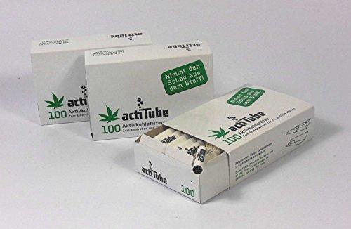 300 ActiTube filtro de carbón activo 3 x 100 Box Display 9...