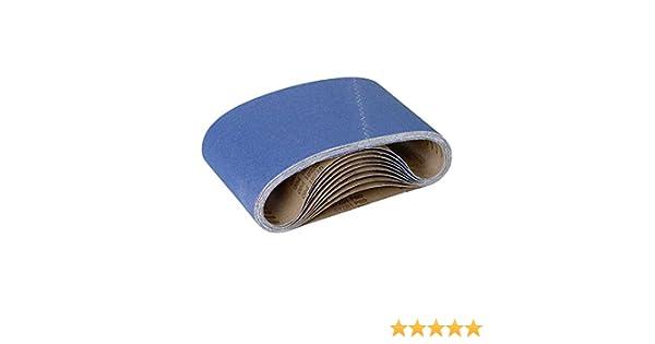 G100 RETOL 10 bandes abrasives 750 x 200 mm p corindon normal ponceuses /à bande