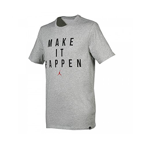 Nike Michael Jordan Make It Happen Dri-Fit Tee - T-shirt für Herren, Farbe Grau