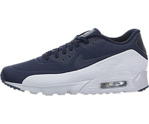 Nike Herren Air Max 90 Ultra Moire Sneakers, Blau (Obsidian/Obsidian-PR Platinum), 43 EU (Nike Air Max 90 Moire)