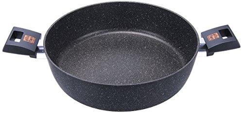 Alluflon 0001850228 Etnea Tegame, 2 Manici, 28 cm