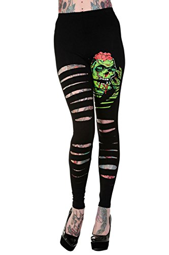 Banned Apparel -  Leggings  - Donna nero 47