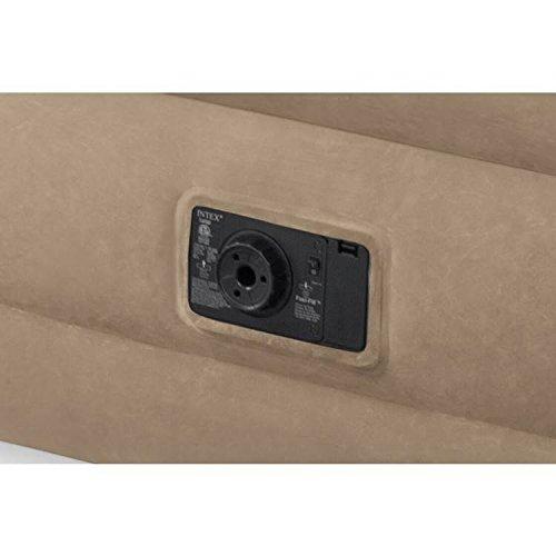Intex Matratze, Elektrisch aufblasbar, für 1Person, Intex Ultra Plush, fiber-tech-Technologie - 3