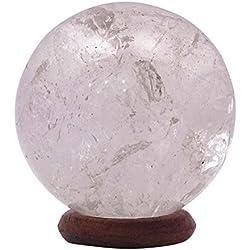 Harmonize Cuarzo Blanco Esfera De Piedra Bola De Cristal Curativo De Equilibrio Espiritual Oficina Regalo De Los Regalos Decor