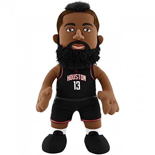 James Harden 10'' (25 cm) Poupluche - Black Jersey - Houston Rockets Test