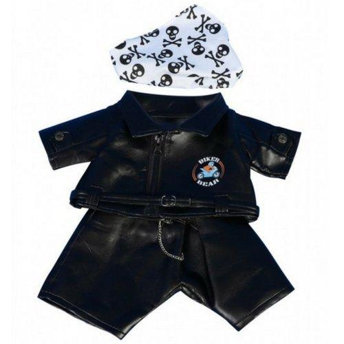 Motorrad Teddybär Outfit Kleidung für 40cm Teddybären und Build-a-Bear - von Cuddles & Friends