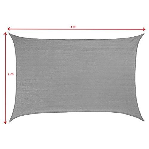preisvergleich sonnensegel sun francis rechteckig in verschiedenen willbilliger. Black Bedroom Furniture Sets. Home Design Ideas