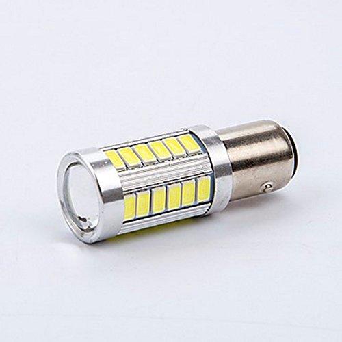 Preisvergleich Produktbild Ueannryer 15w 1200lm 1156 led blinker glühbirne led glühbirne led - bremse aus allen ungeschützten verkehrsteilnehmern weiß - rote, gelbe farbe verfügbar (1pcs),weiße