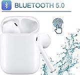 Cuffie senza fili Cuffie Bluetooth 3D Auricolare Bluetooth 5.0 stereo IPX5 riduzione del rumore stereo HD, adatto per cuffie Apple/Android/iPhone/Samsung/Huawei