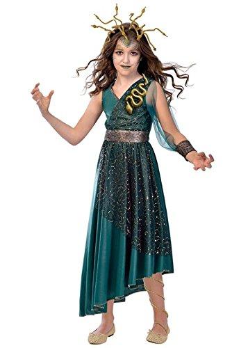 Kinder Medusa Kostüm - Amscan Medusa Kostüm - Halloween Kostüm Kinder Mädchen