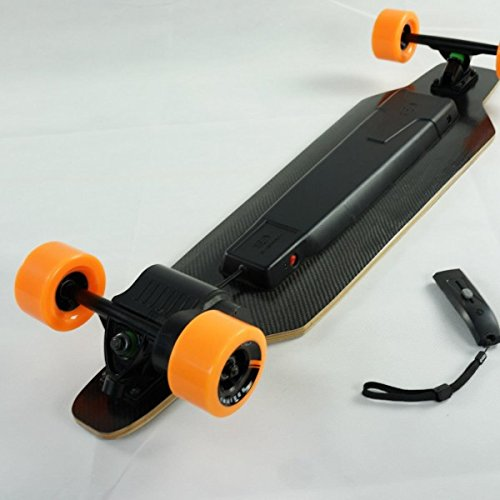 Yuneec E-GO Cruiser Elektro-Skatebaord + LED Lampe E-Longboard + Beleuchtung Set -