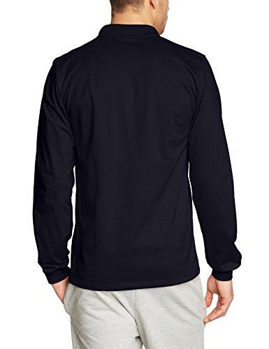 Trigema Herren Poloshirt 621652, Einfarbig Blau (navy 046)