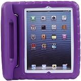 Funda / Estuche Frabricado de Safe Friendly Proof EVA Foam Maneje soporte para Apple iPad 2/3/4 para Niños (Magenta)