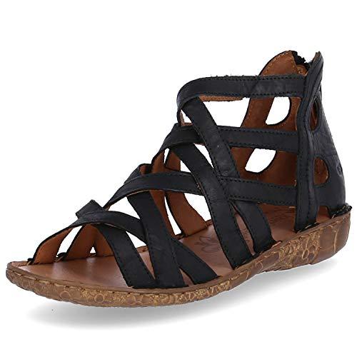 Josef Seibel Rosalie 17 Sandalen in Übergrößen Schwarz 79517 95 100 große Damenschuhe, Größe:42