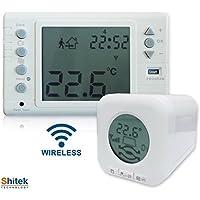 Kit Testina Cronotermostatica e Cronotermostato Wireless