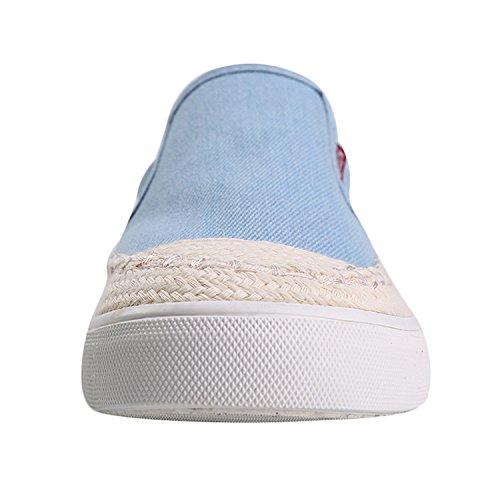 Alexis Leroy Origine Canvas, Sneaker Espadrillas basse donna Azzurro