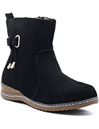 Shuberry Latest Footwear Collection, 6 Inches Length Comfortable & Fashionable High Top Boots With Exclusive Side...