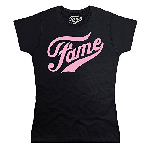Official Fame Logo T Shirt, Female 8 to 16