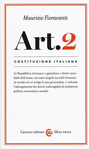 Costituzione italiana: articolo 2