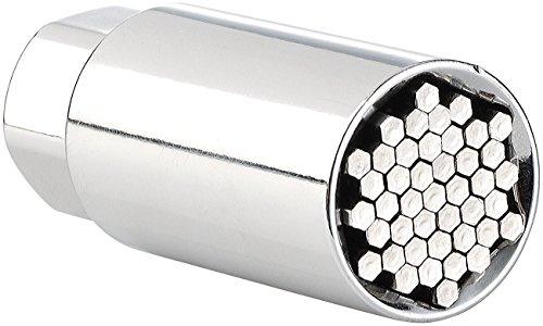 AGT Universalnuss: Multi-Steckschlüssel-Einsatz 9-21mm, 3/8